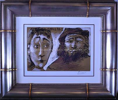 Pablo Picasso - Homme et femme, Opus 394