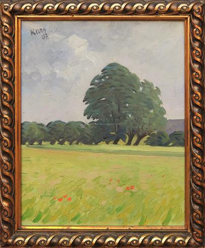 Georges Kars - Stromy v krajině
