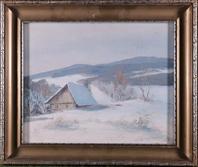 J. Zimerhanzl - Samota v zimě