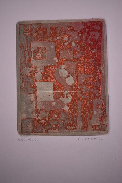 Josef Istler - Soubor 4 prací: Abstraktní kompozice I - IV.