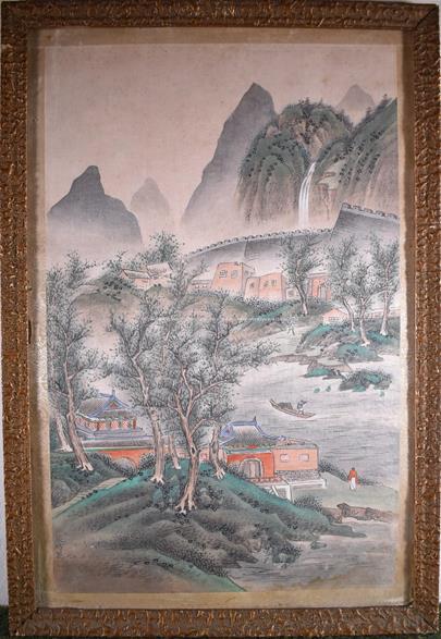Čína - U řeky