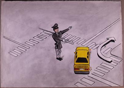 Kája Saudek - Policajt se žlutým autem