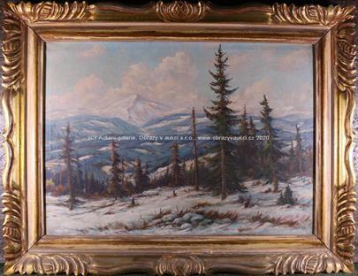 J. Pavelka - Zima v horách
