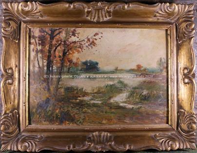 Arkadi Solovjev - Podzim u rybníka