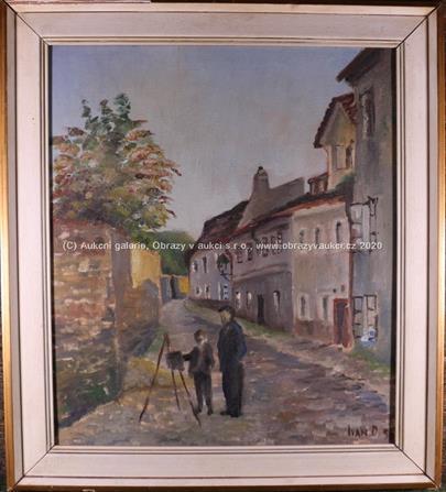 Ivan Dobroruka - Mladý malíř