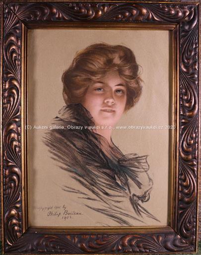 Philip Boileau - Portrét dámy