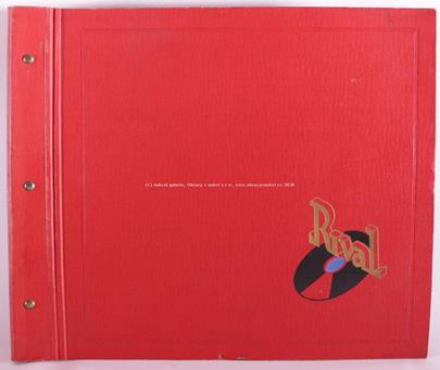 Electrola - Album s 9 deskami-Bajazzi