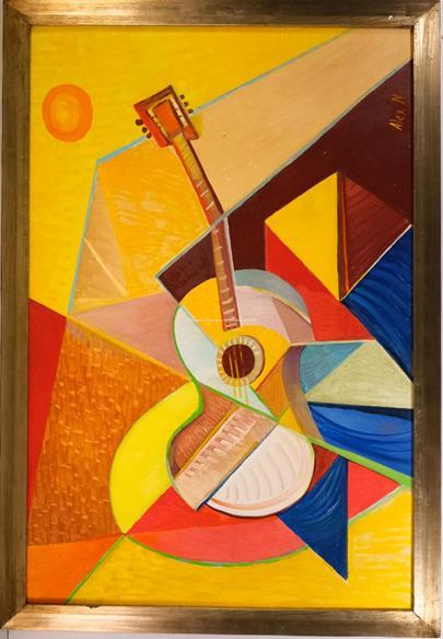 Alexander Neumann - Kubistická kytara