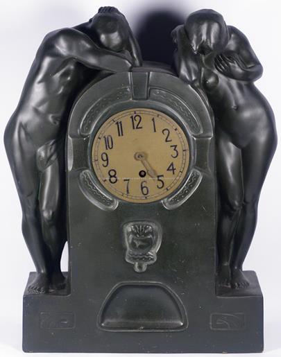 Schön and Co. Dresden - Figurální hodiny