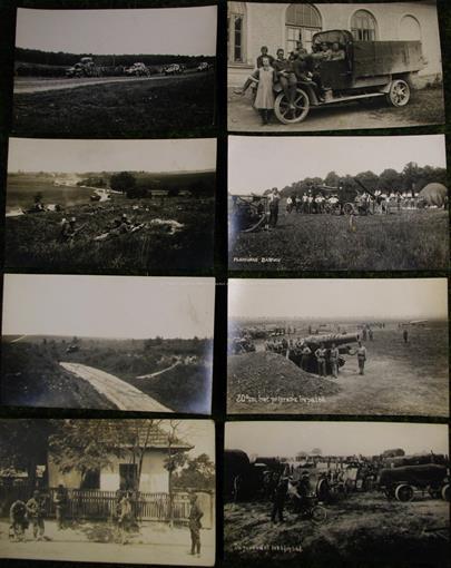 Josef Klimt - Soubor 28 pohlednic s tématikou techniky Československé armády