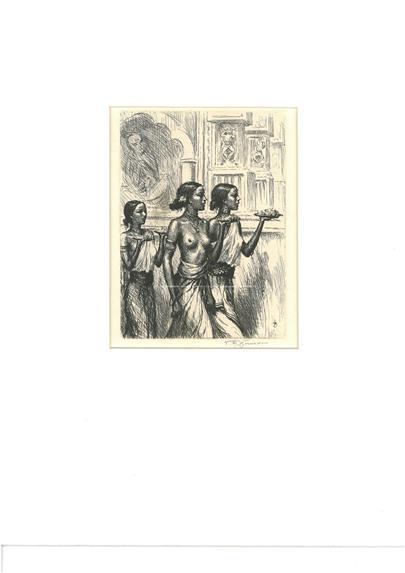 T. F. Šimon - Tři cejlonské dívky