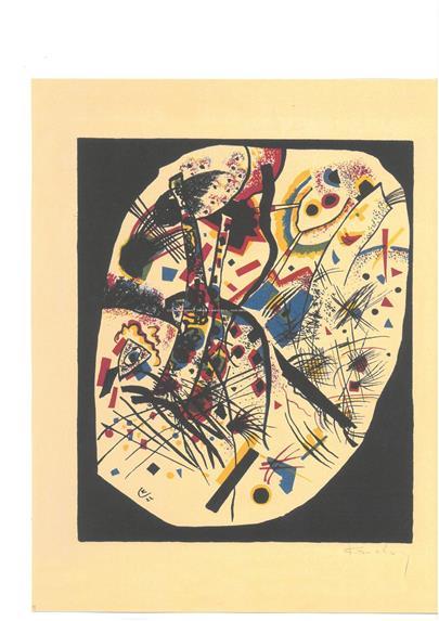 Vasilij Kandinsky -  Kleine Welten III