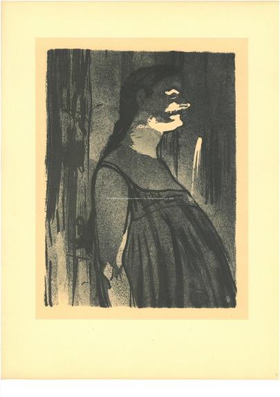 Henri de Toulouse Lautrec - Madame Abdala