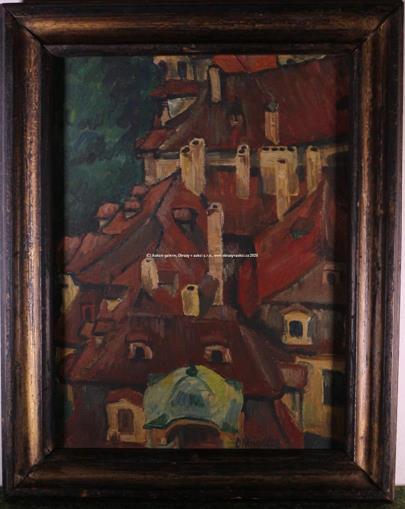 Otakar Mrkvička - Městské střechy
