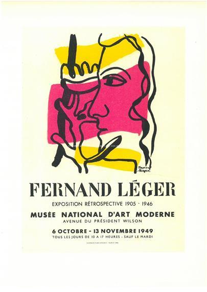 Fernand Leger - Plakát - Musée National D'art Moderne