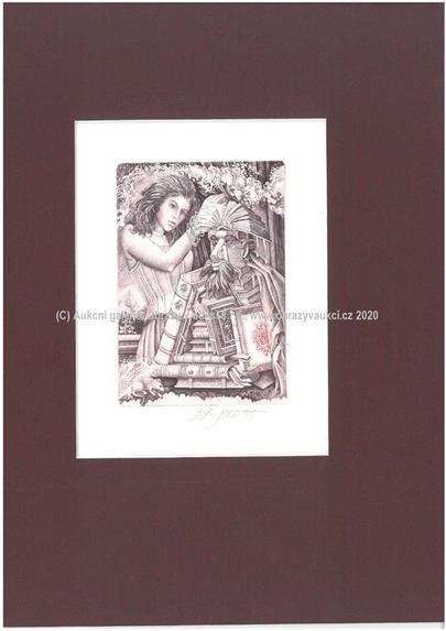 Josef Dudek - Soubor 7 grafických listů Giuseppe Arcimboldo