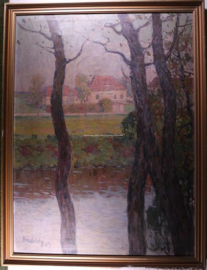 Vilém Kreibich - Řeka za městem