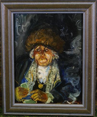 Jiří Ščerbakov - Kartářka