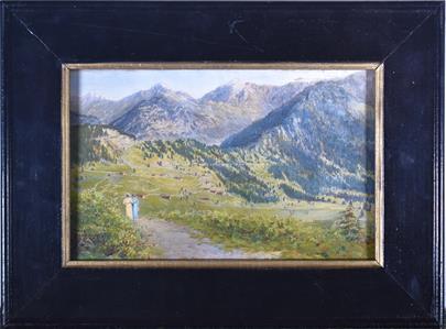 H. Gautier - Procházka v horské krajině