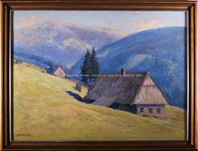 Karel Havlata - Samoty v horách