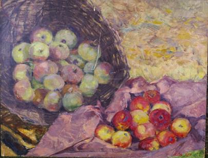 Jaroslav Peregrin Kloc - Zátiší s jablky