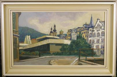 Bohumil Šmíd - Karlovy Vary - kolonáda JG