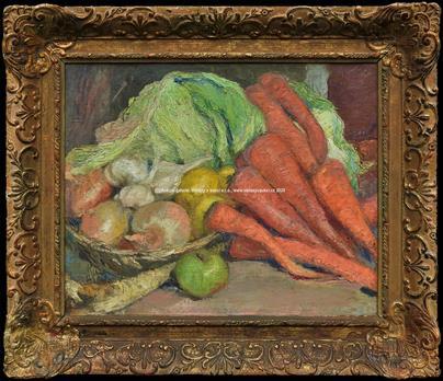 Ludvík Kuba - Zátiší se zeleninou