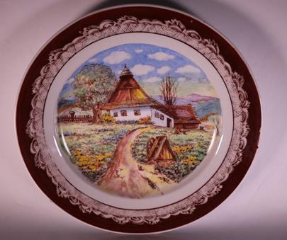 Kudělka Valašsko - Chalupy na Valašsku - talíř