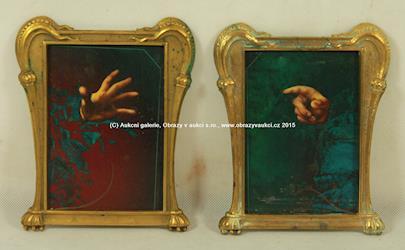 Josef Vyleťal - Ruce - párové obrazy