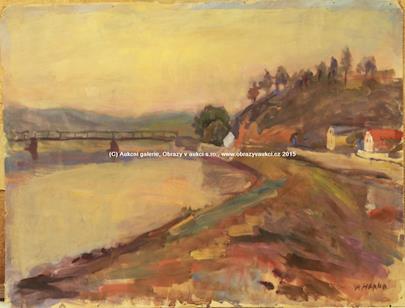 Josef Hapka - Soubor 189- ti krajinomaleb, genrových motivů a autoportrétů
