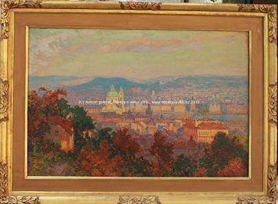 Karel Langer - Pražské panorama