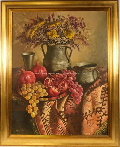 Ashot Mouradian - Zátiší s granátovými jablky