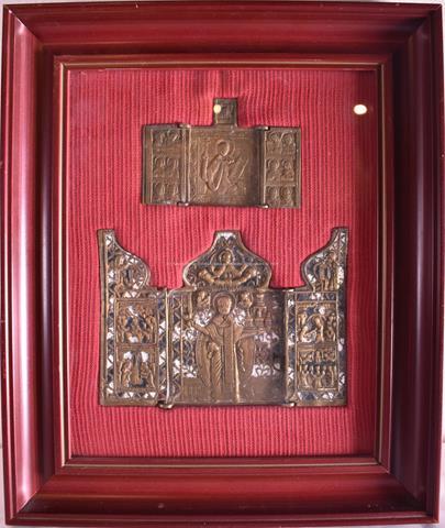 Rusko po pol. 19. stol. - Skladeň se sv. Mikulášem Divotvůrce Možajského a skladeň se sv. Paraskeve