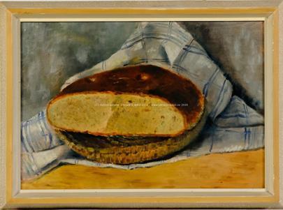 Václav Rabas - Zátiší s chlebem