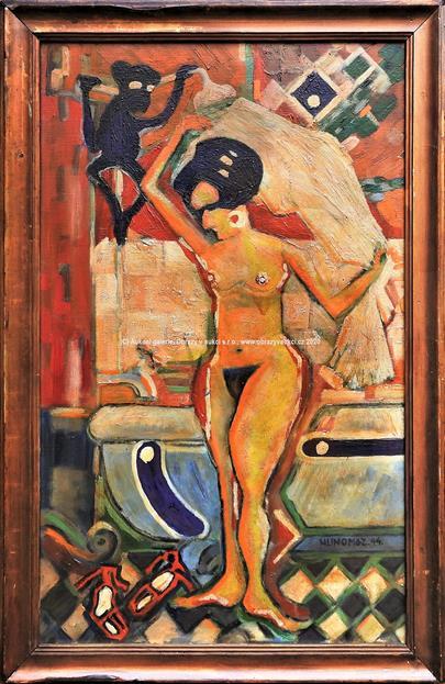 Josef Hlinomaz - V koupelně