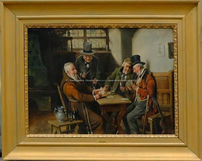 J. Golwig - Hráči karet