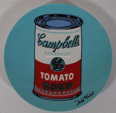 Andy Warhol, Rosenthal - Tomato soup