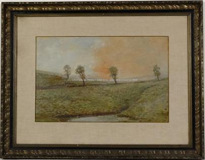 Josef Ullmann - Stromy v krajině