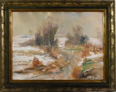 Karel Jan Sigmund - Cesta zimní krajinou