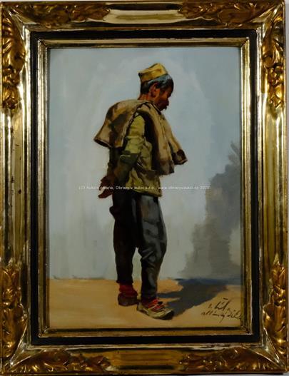 Otakar Číla - Albánský dělník