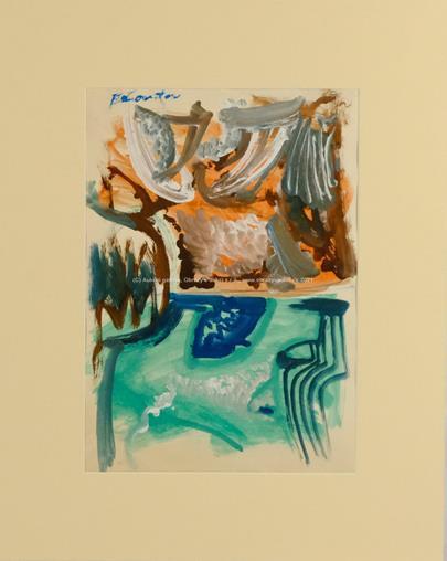Andrej Bělocvětov - Oboustranný obraz - Kompozice a Portrét