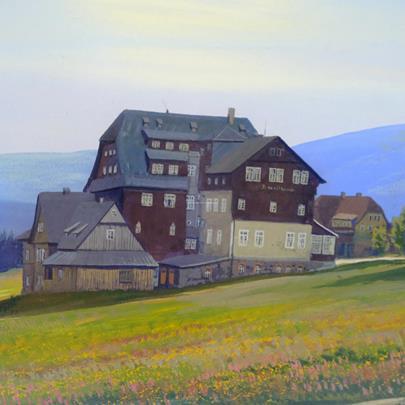 Christian Gotthard Hirsch - Hotel v horách