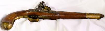 Rakousko - Uhersko - Křesadlová Rakousko - Uherská vojenská pistole