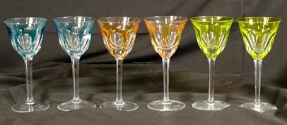 Moser - Sada 6 sklenic Moser