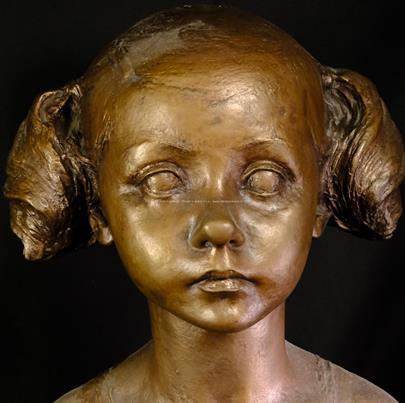neznačeno - Děvčátko s culíky