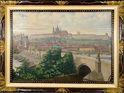 T. Kroj - Pražské panorama