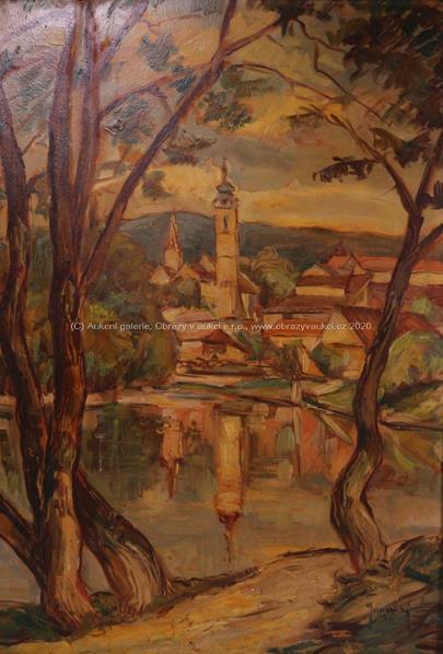 Janovský - Městečko u rybníka