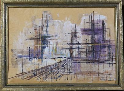 Skandinávský malíř po polovině 20. století - Periferie