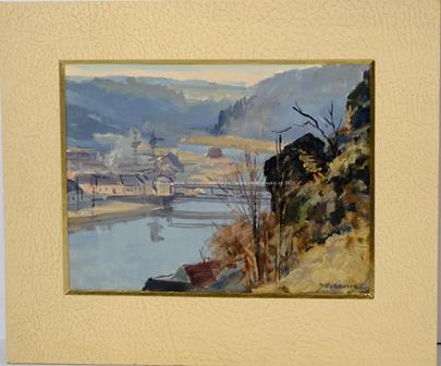 Jaromír Kunc - Výhled na řeku
