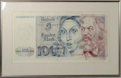 Oldřich Kulhánek - Hundert mark
